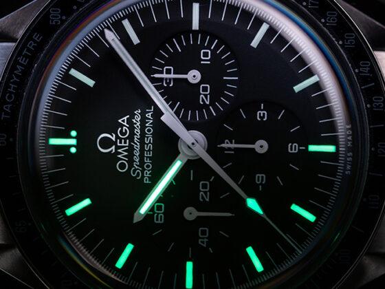 Omega Speedmaster Lume shot