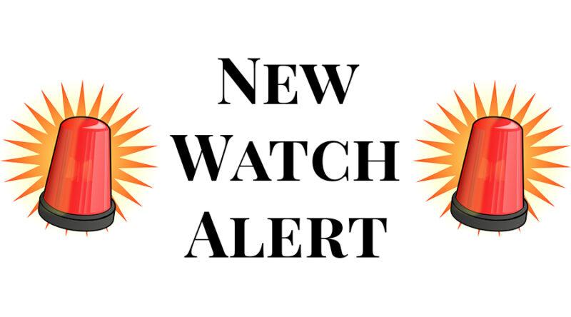 New Watch Alert