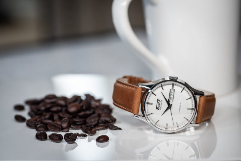 The classic Tissot Visodate looks great in any setting