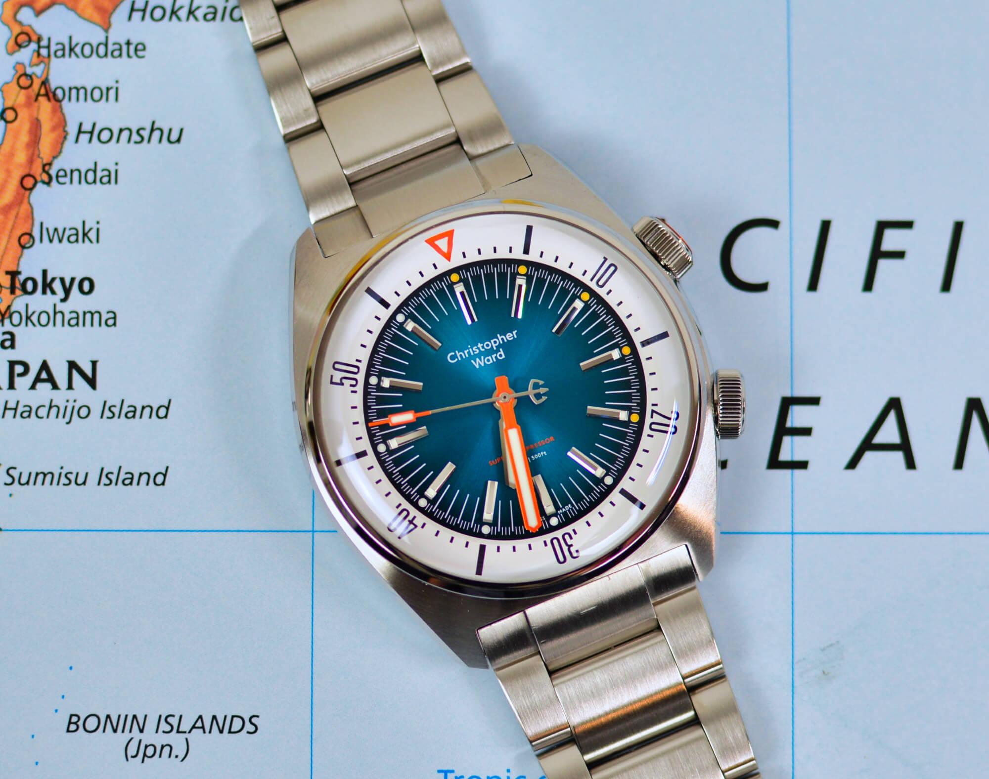 Christopher Ward C65 Super Compressor Review - Watch Clicker